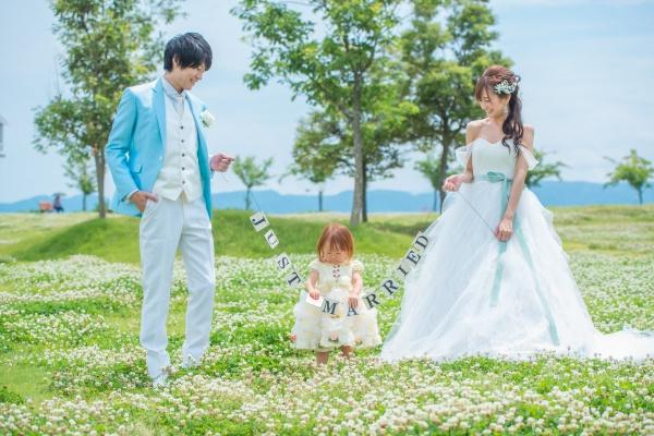 【生まれてきてくれた自分の子どもと一緒に】パパママ婚ってこんなに温かい結婚式なんです♡