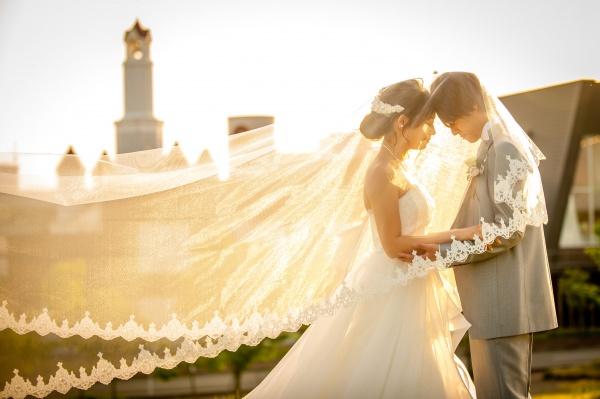 【結婚式の前に知っておきたい!!ウエディングドレスに込められたメッセージ♡】