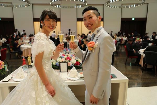 【ウエディングレポート♡披露宴編♡】笑いあり涙あり!ゲストと楽しむパーティー♡