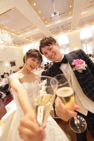 【ウェディングレポート】一緒に楽しむ結婚式★ゲストにも参加してもらえる演出を取り入れてみました!