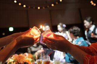 【♯フローティングキャンドル 知ってる?】結婚式の定番アイテム☆キャンドルを使った演出&コーディネートをご紹介します♪