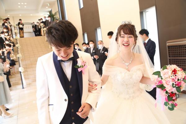 【ウェディングレポート】テーマは*★Disney★*こだわりがたくさん詰まったステキな結婚式~挙式編