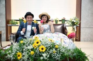 【ウェディングレポート】今日はみんなでLet's party!!ゲストと一緒に楽しめる結婚式をご紹介します♡~パーティー編part.1~