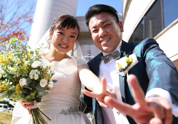 【ウェディングレポート】今日はみんなでLet's party!!ゲストと一緒に楽しめる結婚式をご紹介します♡~ガーデン人前式編~