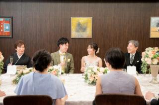 ◆新プラン登場◆【親族の食事会+チャペル式+友人とのパーティー】全部セットの2部制プラン