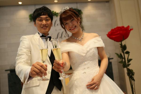 【ウェディングレポート】ゲストにhappyを届ける♡many smile wedding~part.2☆~