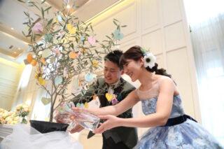 【パーティーレポート】ゲストと一緒につくる結婚式!記念樹セレモニーに込めた想い♡~part2~