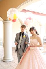 【ウェディングレポート】可愛らしさいっぱいにテーマカラーはピンク♡そして、家族に伝えたい≪ありがとう≫ ~パーティー編
