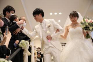 【ウエディングレポート】待ちに待った結婚式!最高な時間をゲストと過ごすためにおふたりらしさを詰め込みました☆