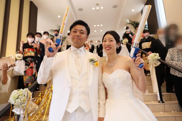 【ウェディングレポート】Enjoy summer★笑顔はじけるwedding♪