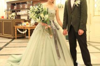 【ウェディングレポート】あたたかな自然光に包まれて*Natural Green Wedding*