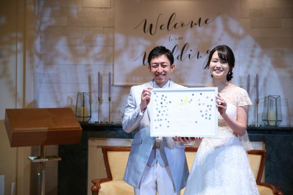 """【ウェディングレポート】青と星をテーマに☆""""好き""""をたくさん詰め込んだwedding"""